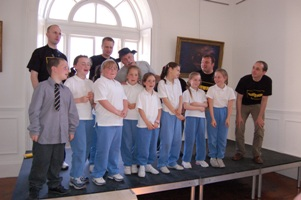Cobh Youth Services Shanty Singers with Banana Boat from Poland, Cobh 2006